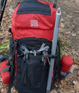 poches sac à dos de randonnée