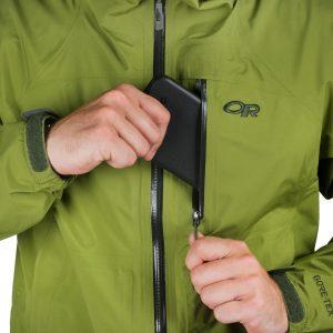 fermeture éclair veste randonnée