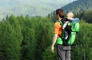 randonnée porte bébé